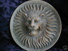 Sunburst Lion wall art tile plaque sculpture art home decor animal ornament
