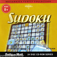BRITANNICA FAMILY COLLECTION: SUDOKU (Daily Mail PC CD-ROM)