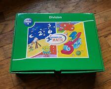 Hooked on Math Division - CDs, Flashcards. Workbook NIB Homeschool