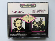 That's Classical - Grieg + Orchestral Romance - 2xcd's - 1988 castle comm's