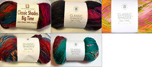 Lot of 3 skeins Universal Yarn Classic Shades Big Time Color Choice