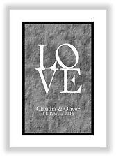 besonderes Geschenk Valentinstag Liebesbeweis Jahrestag personalisiertes Bild