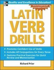 Latin Verb Drills (Paperback or Softback)
