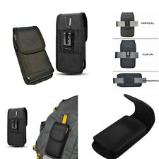 Man's Waist pack Hanging belt Clip Card Wallet pocket Bag Case Cover For Phones