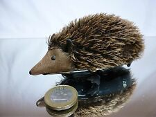 VINTAGE TIN TOY  WEST GERMANY - HEDGEHOG L12.0cm FRICTION - GOOD CONDITION