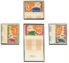 Congo Olympische Spiele Olympic Games 1964 Imperforated set MNH
