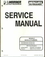 Mercury 30 40 HP 2 cylinder Marathon Sea Pro outboard Service Repair Manual