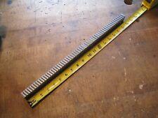 1pc Hensley 0736 Or 0742 W X 18 L Carbide Slant Tooth Machine Keyway Broach