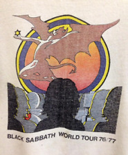 Black Sabbath World Tour 76-77 T-shirt Tee For Men Women S to 4XL P1372