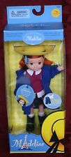 """New School Paris Madeline 8"""" Doll Outfit Garden Green Thumb Overall Free"""