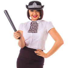 Womens Police Costume Set Fancy Dress Uniform Policewoman Cop Officer Alandra