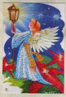 Engel Stickpackung Stickbild Stickset Bild sticken mit Perlen 623