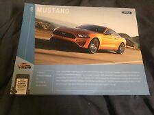 ALL NEW 2018 FORD MUSTANG GT SHELBY 350 GT COLOR BROCHURE PROSPEKT