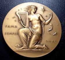 THE HALL OF FAME / EDWARD A. MacDOWELL 1861-1908 / NEW YORK / BRONZE MEDAL / M34