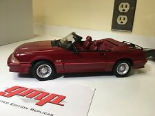 1989 Ford Mustang GT Convertible 1/18 Scale Diecast Model Car By GMP