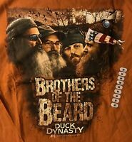 "UNISEX - ALSTYLE T-SHIRT - ""BROTHERS OF THE BEARD"" - DUCK DYNASTY - MEDIUM - NEW"