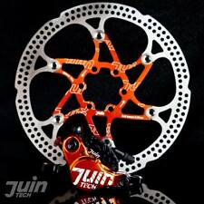 Juin Tech X1 Hydraulic Cable Pull Disc Brake Black/Orange - Road | Cyclocross...