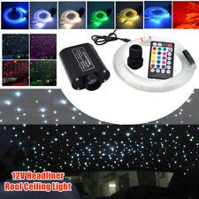 12V DIY Car Audio Fiber Optic Star Light Headliner Roof Ceiling Light 300 Points