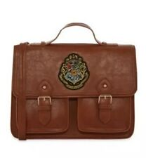 Harry Potter Brown Tan Satchel School Bag Shoulder Strap New
