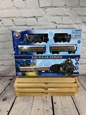 Nib Lionel The Polar Express Train Set - 7-11925 Battery Operated 28 Piece Set