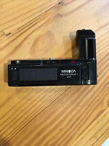 Vintage Minolta Motor Drive 1 for X-700, X-500, X-570, X-300, X-370, XG-M