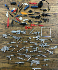 Transformer? Vultron? Or Other Vintage Toy Accessory Lot From 80s Weapons