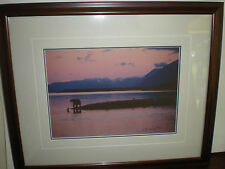 """Thomas Mangelsen limited edition signed out of print """"Twilight on the Peninsula"""""""
