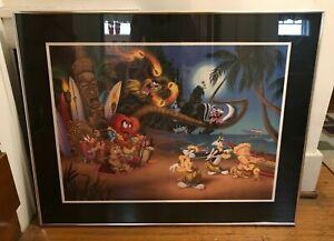 """Aloha Bugs"" Warner Brothers Studio Framed Seriolithograph (2005)"