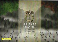 2017 Folder Brigata Catanzaro Edizione Limitata 3200 Italy Italien Italian Army