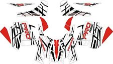 POLARIS 2015 GRAPHIC PRO RMK terrain dominator 121 144 155 163 decals WRAP KIT 4