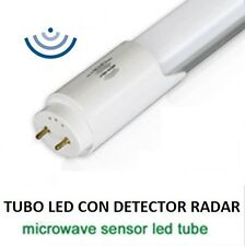 Tubo led sensor radar detector movimiento 120cm 6000k microwave sensor led tube