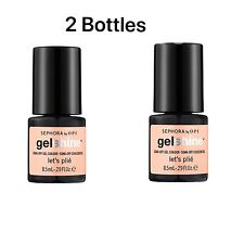 2X SEPHORA BY OPI gelshine Gel Colour Let's Plié 0.29 oz
