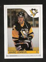 1992-93 MARIO LEMIEUX OPC Anniversary Series ROOKIE #9 O-Pee-Chee Pittsburgh