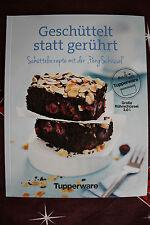 """Tupperware Rezeptheft """"Geschüttelt statt gerührt"""" Kochbuch 34 Seiten mit Bilder"""