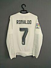 Ronaldo Real Madrid Jersey 2015 2016 13-14 y Youth Shirt Adidas S12685 ig93