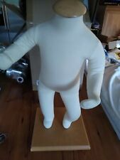 Headless Baby Child Clothing Padded Mannequin Store Display 20� w/ Stand