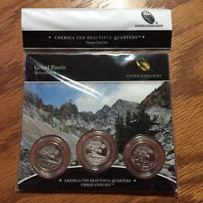 2013 Great Basin NP Three-Coin 3-Coin Set America Mint Set N48 ATB Quarter