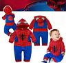 Spiderman Baby Romper Children's Baby Marvel Fancy Dress Kids Halloween Gift