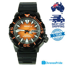 SEIKO MONSTER ORANGE SRP311 SRP311J JAPAN MADE AUTOMATIC MENS DIVERS WATCH RARE