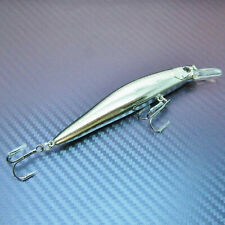 Floating Diving Plug Minnow Lure Hard Bait Crank Bait Fishing Tackle 102mm 13.5g
