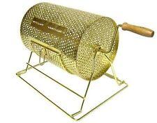 Bingo Supply Brass Plated Game Raffle Barrel Drum X Lrg