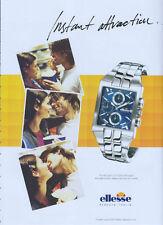 Ellesse Sportivo 510 Series Watch 2004 Magazine Advert #1244