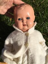 Old Composite German Doll Beautiful Vintage Dolls Bisque??