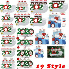 2020 Family Santa Christmas Tree Home Party Hanging Ornaments Decorations
