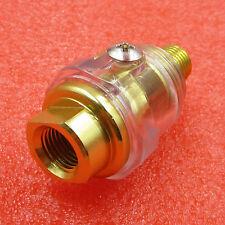 "1/4"" BSP Mini In-Line Lubricator Oiler  for Pneumatic Tool & Air Compressor Pipe"