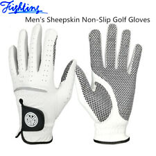 6 Sizes Men Golf Gloves Cabretta Leather Anti Skid Left Right Hand All Weather