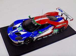 1/18 Ford GT LMGTE Pro car #66 Chip Ganassi 4th Place 2106 LeMans IN STOCK NOW