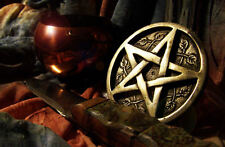 Framed Print - Pagan Ritual Table with Star & Dagger (Picture Wicca Paganism)