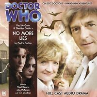 PAUL SUTTON - DOCTOR WHO: NO MORE LIES   CD NEW