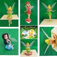 6x Hot Disney Peter Pan Tinker Bell PVC Figures Set